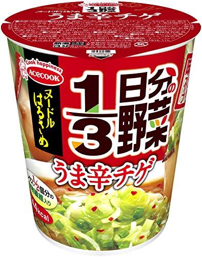 エースコック ヌードルはるさめ 1/3日分の野菜 うま辛チゲ 44g×6個