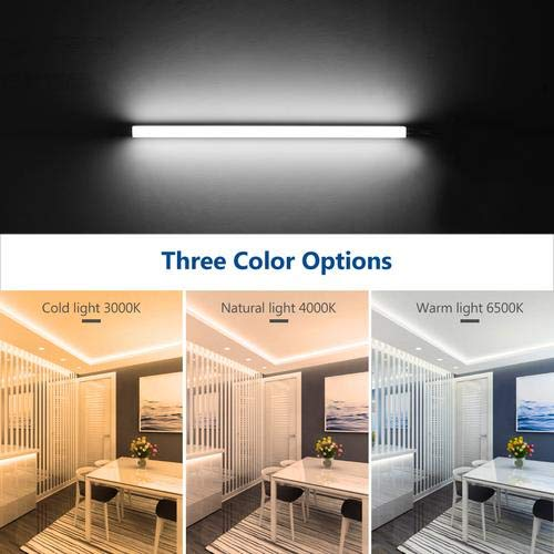 T5 led leuchtstoffröhre,14W LED Röhre LED unter Schrank Aufgabe Beleuchtung led 3 Farben 6000K / 3000K / 4000K 90CM Leuchtstoffröhren Licht LED Linearleuchten für Lager, Büro