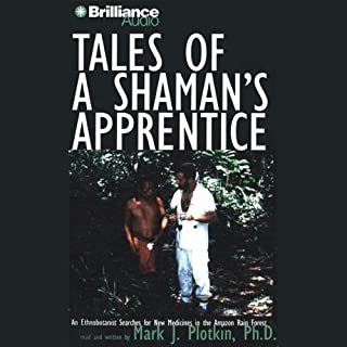 Tales of a Shaman's Apprentice audiobook cover art