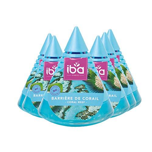 Iba Iba Piramide Deodorante Per Ambienti, Casa, Ufficio, Profumazione Brezza Fino A 6 Settimane, 6 Pezzi - 500 g