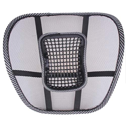 Lumbar Support 3 Pack Ergonomically Designed mesh Back Support for just About Any Chair or seat Used to Improve Poster and Provide Back Pain Relief