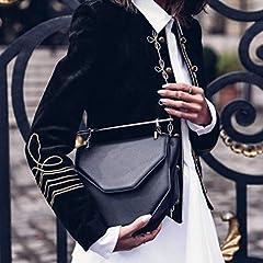 Women Plus Size Coats, Women Ladies Fashion Retro Steampunk Gothic Military Coat Jacket Top Cardigan, forJacket Womens Winter Sale (Black-M) #2