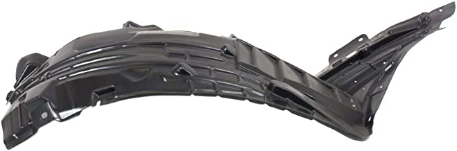 Fender Liner Compatible with 2006-2009 Nissan 350Z Plastic Front Section Front Passenger Side