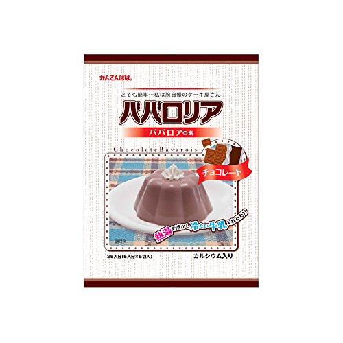 【常温】 伊那食品 ババロリア ババロアの素 チョコレート 375g 業務用 ババロア(ソースなし)