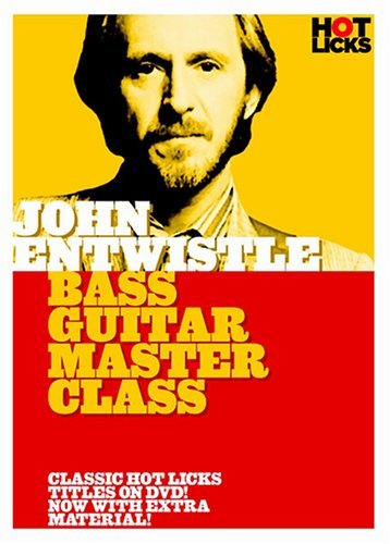 John Entwistle: Bass Guitar Master Class [DVD] (2006) John Entwistle (japan import)