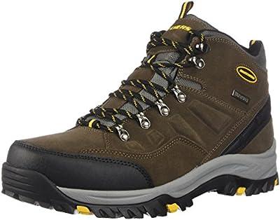 Skechers Men's RELMENT-PELMO Hiking Boot, khk, 10.5 Wide US