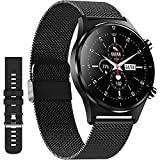 Android Smart Watch,XJWATCH Smartwatches with Heart Rate,Sleep,SpO2 Monitoring, 24 Sports Modes 1.28 Inch Touch Screen Fitness Watch for Men Women Compatible with iPhone iOS,IP68 Life Waterproof