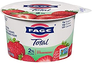 FAGE TOTAL Split Cup, 2% Greek Yogurt with Strawberry, 5.3 oz