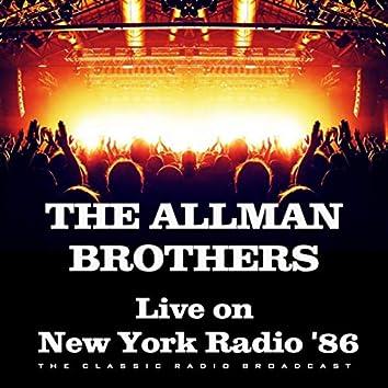 Live on New York Radio '86 (Live)