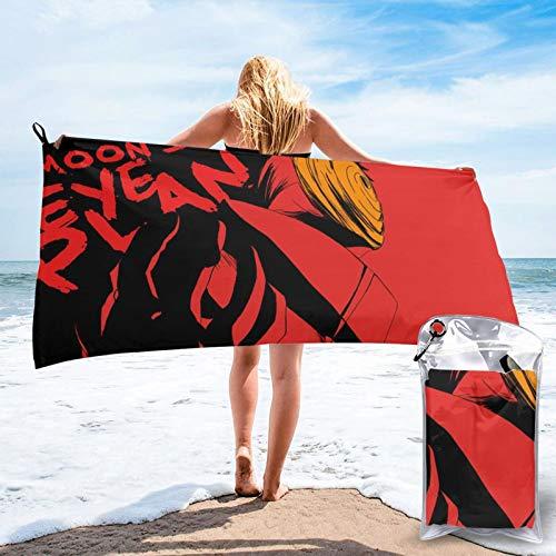 ZEGAILIAN N-Aruto Obito Uchiha - Toalla de playa absorbente y resistente a la decoloración