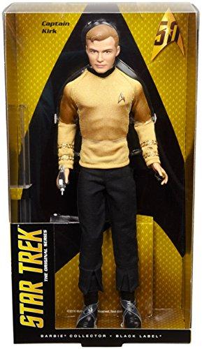 Barbie Star Trek 50th Anniversary Kirk Doll JungleDealsBlog.com