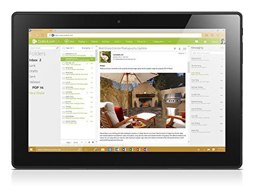 Lenovo Miix 310 64GB 4G Zwart - Zilver tablet