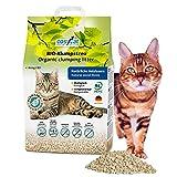 Arena para gatos COSYCAT biodegradable y aglomerante, 20 l, natural a base de madera