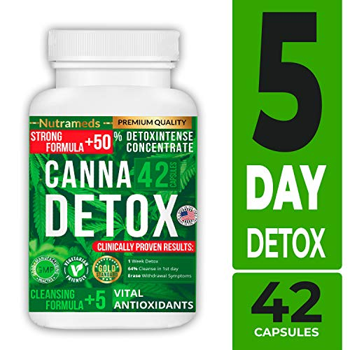 Nutrameds Detox - Urinary Tract UT Cleanse & Bladder Health – Fast-Acting Detoxifying Strength, Flush Impurities, Clear System – Milk Thistle Pills – 42 Vegetarian Capsules