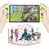 野生のNFCカードのゼルダ息の伝説、リンクの目覚めZelda Botwゲームカード、スイッチ/Lite Wii U - 24PCSと互換性があります。