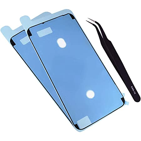 Amazon Com Waterproof Screen Sealing Adhesive 2 Pack Lcd Display Front Frame Pre Cut Tape Seal Stickers Glue Replacement Part For Iphone 6 Plus 6s Plus