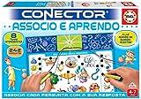 Educa Conector Associo Aprenda associações de números, Letras, Formas e outros. Jogo Educativo para crianças. + 4 Anos. Ref. 17285