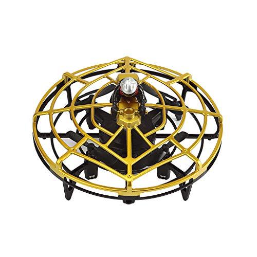 Mini Drohne für 25 Minuten Flugzeit RC Drone Quadrocopter Mini Helikopter Flugzeuge Drehflügler Ebene mit Höhehalten Kopflos Modus 3D Flips Spielzeugdrohne für Kinder (Gold)