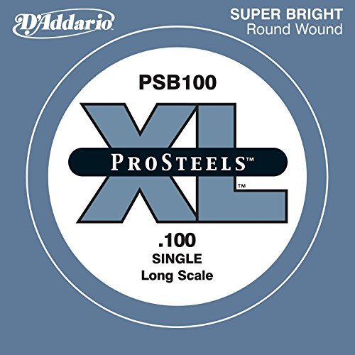 D'Addario ProSteels PSB100 - Cuerda individual para bajo,