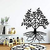 wZUN Pintura de Pared de árbol de Dibujos Animados Pegatinas de Pared extraíbles Pegatinas de Pared de habitación de niños decoración del hogar 28X35cm