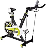 Body Xtreme Fitness Exercise Bike with Resistance Bands, Water Bottle...
