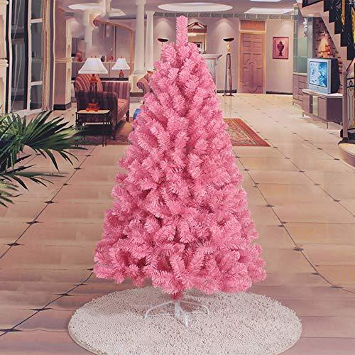 Árbol de Navidad decorativo de 150 cm (5 pies), árbol de Navidad...