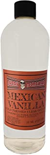 Nutty Montanan Authentic Real Pure Mexican Clear Vanilla (White) 16 Ounce Cold Pressed No Coumarin Imported