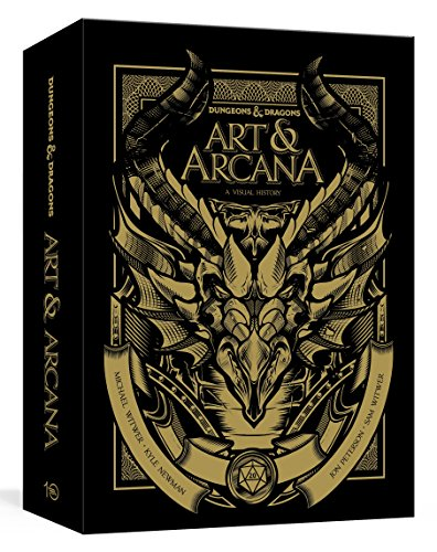 Dungeons & Dragons Art & Arcana [Special Edition, Boxed Book & Ephemera Set]: A Visual History