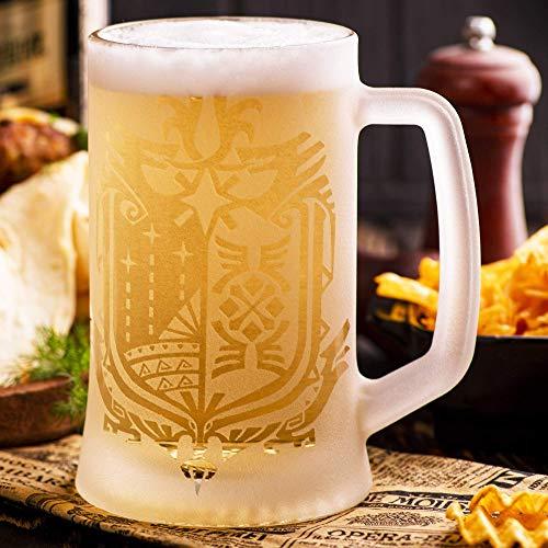 Monster Hunter World Beer Glass, MHW Beer Stein, Beer Mug, Gamer Gift Tankard, Geek Gift
