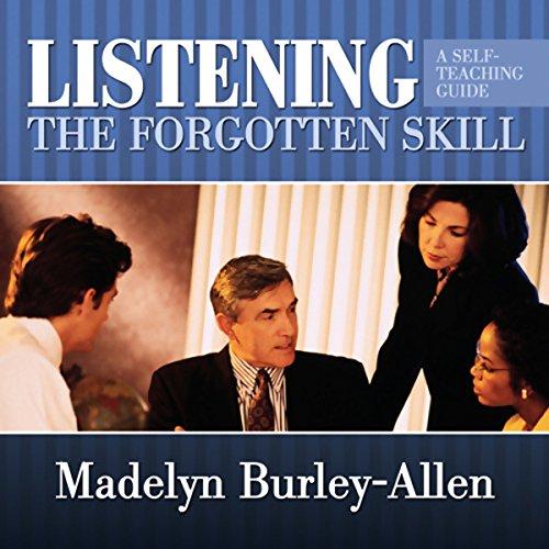 Listening audiobook cover art