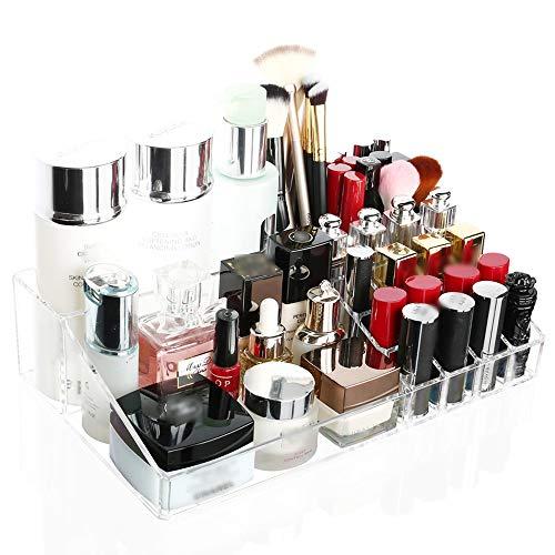 Jian E Nordic Cosmetics Boîte De Rangement Etagère De Rangement En Acrylique Coiffeuse De Bureau Rouge À Lèvres Soins De La Peau De Stockage