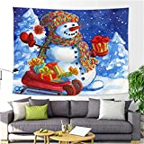 YYRAIN Nordic Weihnachtsdekoration Tapisserie Home Wandkunst Dekoration Hintergr& Tuch Multifunktionale Strandtuch Tischdecke 79x59 Inch{W200xH150cm}