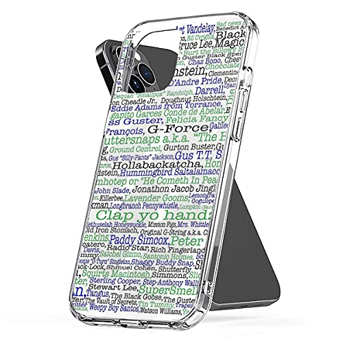 Psych TV Show Poster Nicknames Burton Guster Anti- Choques y Anti- Arañazos con iPhone 12/11 Pro MAX 12 Mini SE X/XS MAX XR 8 7 6 6s Plus Funda Cajas del Teléfono