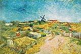 1art1 Vincent Van Gogh - Gemüsegärten Am Montmartre, 1887