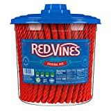 Red Vines Licorice, Original Red Flavor Soft & Chewy Candy Twists, 56.01