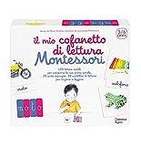 Il mio cofanetto di lettura Montessori. Con Carte...