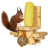 lampox Eichhörnchen Futterhaus
