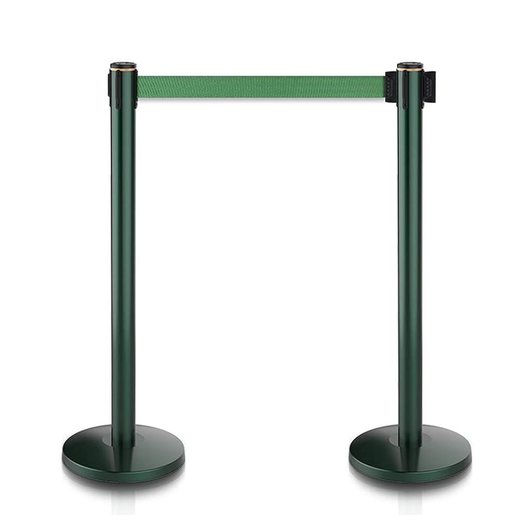 キャプチャーバーガーミシン目ロープの障壁の支柱の列のロープの障壁のポストは立場の群集整理を立てます