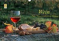 Wein - Reben, Wingerte und historische Weinkeller (Wandkalender 2022 DIN A3 quer): Herrliche Weinlandschaften, Historische Weinkeller, edle Weine (Monatskalender, 14 Seiten )