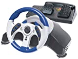 MADCATZ MCB8230 PS2 MC2 MICROCON Racing Wheel with Pedals