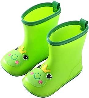MEIGUIshop Rain Boots - Waterproof Low to Help wear Rubber Short Tube rain Boots