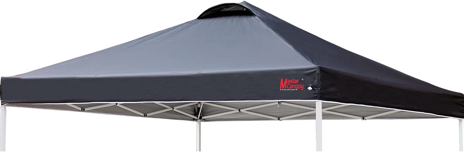 MASTERCANOPY wholesale 10FT Folding OFFer Canopy Black Replacement Cover