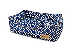 Padded dog bed for chewers