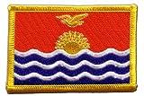 Aufnäher Patch Flagge Kiribati - 8 x 6 cm