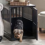 Pet Crate End Table Solid Wood Furniture