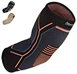 Best Elbow Braces - Kunto Fitness Elbow Brace Compression Support Sleeve Review