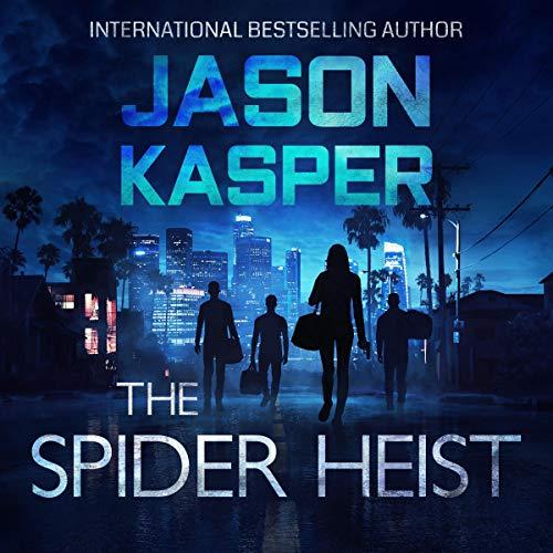 The Spider Heist audiobook cover art
