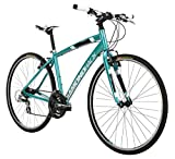 Diamondback Bicycles Women's 2015 Clarity 1 Complete Performance Hybrid Bike, 20-Inch/Large, Blue