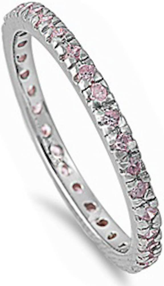 Oxford Diamond Co Stackable sale Cubic Simulated Gemstone service Zirconia