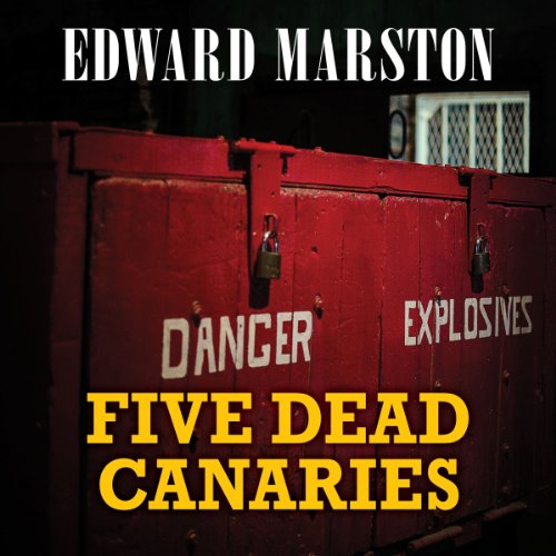 Five Dead Canaries audiobook cover art